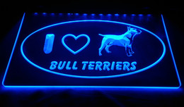 $enCountryForm.capitalKeyWord Australia - LS1771-b-I-Love-Bull-Terrier-Dog-Pet-Shop-Neon-Light-Sign Decor Free Shipping Dropshipping Wholesale 8 colors to choose