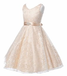 Wholesale Hot style children sleeveless princess lace spring and autumn new production dress casual fashion and retail