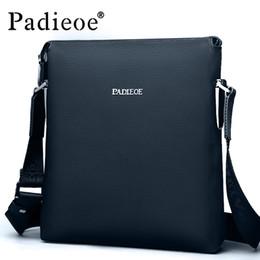 $enCountryForm.capitalKeyWord NZ - Padieoe 2016 Best quality men's shoulder messenger bags genuine leather crossbody sling bags Leisure business handbags for male