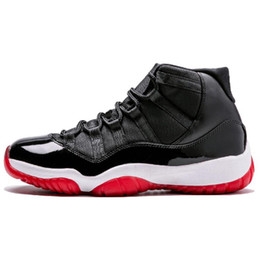 China 2019 11 11s Cap Gown Prom Night Men Basketball Shoes Platinum Tint Gym Red Bred PRM Heiress Barons Concord 45 Grey Sneakers cheap man tennis cap suppliers