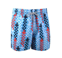 red white blue swimsuit men UK - 2018 Brand Trendy Board Shorts Men Quick Dry Turtle Printed Male Beach Short Bermuda Swimwear Vilebre Men's Swimsuit Casual Sports Short Man