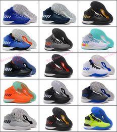4d21fb5ee57b 2017 D Rose 8 Basketball Shoes Men Black Gold Derrick Rose 8s VIII New York  Crazy Light Mens Homme Sport Sneakers
