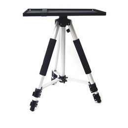 Chinese  Metal Projector Tray Holder For 1 4'' 3 8'' Screw Tripod & 7''-15'' Laptop for Projector Monitors Red manufacturers