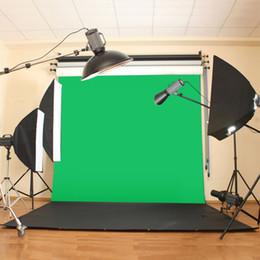photo background muslin 2019 - 10X10ft 300x300CM Chromakey Green Screen Muslin Green Cloth Screen Backdrop Photo Photography Studio Background cheap ph