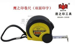 Wholesale BESTIR M MM white double side metric printing durable retractable mini tape measure NO freeshipping