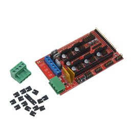 printer board UK - 2pc Ramps1.4 Boards Accessories Panel Part Motherboard 3D Printers Parts RAMPS 1.4 Control Board Anti-static Packaging
