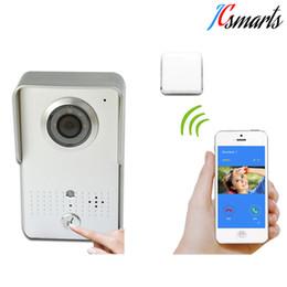 $enCountryForm.capitalKeyWord UK - ACTOP Wifi602 Wifi Video Door Bell Wireless Door Interfone Phone Unlock Remotely By Smart Phones