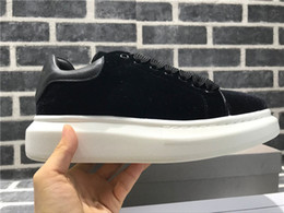 platform closed wedges 2019 - New Designer Brand Wedges Platform Sneakers Women Leather Shoes Tenis Casual Breathable Shoes For Woman Men cheap platfo