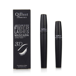 Best full makeup set online shopping - Best Price Qibest mascara D FIBER LASHES MASCARA Set Makeup lash eyelash waterproof double mascara box