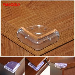 baby safety corners protectors NZ - Edge Corner Guards Child Baby Safety Transparent Protector Table Corner Protection Cover Children Anticollision Edge Guar