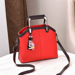 Handbags For Ladies Red Color Australia - MONNET CAUTHY Bags for Women Fashion Leisure Elegant Office Ladies Handbags Solid Color Deep Blue Wine Red Pink Crossbody Totes