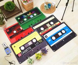 Ностальгия ленты кассеты коврики противоскользящие ковер коврик творческий Лента коврики Главная прихожая вход коврик