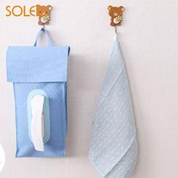 $enCountryForm.capitalKeyWord NZ - Tissue Pumping Paper Cover Durable Hanging Tissue Box Creative Bathroom Oxford Cloth Case Storage Napkin Waterproof