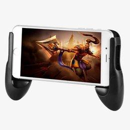 Jogo de telefone suporte de jogo gamepad aperto de mão clipe stand para x 8 7 s8 plus 6 p10 gaming handle holder