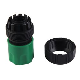 Hose Fit UK - adaptor flange 18mm 3 4 Garden Lawn Water Tap Hose Pipe Fitting Set Connector Adaptor Universal Garden Supplies Alternative Practical