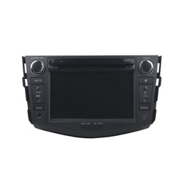 rav4 gps UK - Car DVD player for Toyota RAV4 2006-2012 High quality 4GB RAM 7inch Andriod 8.0 with GPS,Steering Wheel Control,Bluetooth, Radio