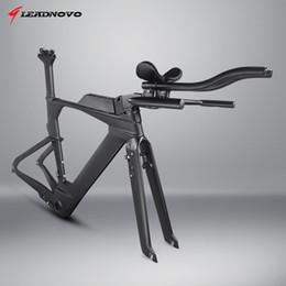 bicycle taiwan 2019 - 2019 OEM Triathlon Time Trial Aero Race Bike Bicycle 800C Full Carbon Fibre Frame Taiwan DI2 TT Carbono Frameset cheap b