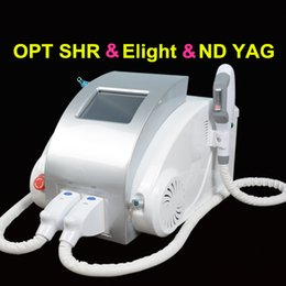 Ipl e lIght tattoo removal online shopping - OPT SHR IPL Elight permanent hair removal machine q switched nd yag laser tattoo removal E light Skin Rejuvenation