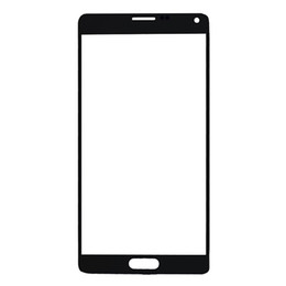 """$enCountryForm.capitalKeyWord UK - 50Pcs For Samsung Galaxy Note4 Note 4 N910F N910C N910G N910H N910U N9100 N910 Front Glass Lens 5.7"""" Touch Screen Outer Panel Free DHL"""