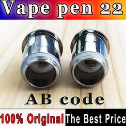 $enCountryForm.capitalKeyWord Canada - 100% Authentic AB code Vape Pen 22 0.3ohm Vape pen Mesh Strip coil head for Vape Pen 22 Starter kits