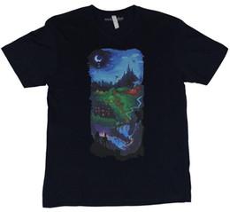 Venta al por mayor de Gaming Video Games Camiseta para hombre - Así comenzó History Gaming Cómoda camiseta Camiseta casual de manga corta 100% algodón