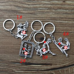 Led Drop Pendant Australia - Vintage romantic love key chain valentine's day wedding gifts very cool jewelry pendant.