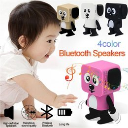 $enCountryForm.capitalKeyWord Australia - Portable Music Player Dance Robot Mini Android Newest Robot Speaker Dance Smart Robot New Wireless Mini Speaker Toy