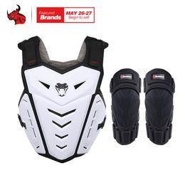 off road armor 2019 - HEROBIKER Motorcycle Armor Vest Motorcycle Riding Chest Armor Motocross Off-Road Racing Vest + Knee Pads cheap off road