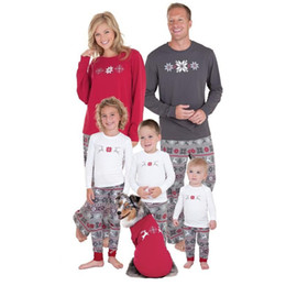 $enCountryForm.capitalKeyWord NZ - Family Christmas Pajamas Set Warm Adult Kids Girls Boy Mommy Nightwear Mother Daughter Clothes Matching Family Outfits 2018 New