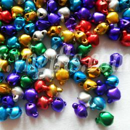 6mm Jingle BellsLacing BellsChristmas Decoration Promotion ItemsDIY Crafts Handmade AccessoriesMixed Color