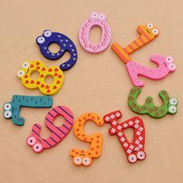 $enCountryForm.capitalKeyWord NZ - 15PCS Cute Number Baby Kids Children Lovely Wooden Alphabet Refrigerator Fridge Magnets Stick Figure Early Learning Toys