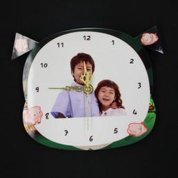Orologio DIY dello zodiaco dello spazio in bianco di sublimazione di DIY di modo per il regalo della macchina della stampa del trasferimento di calore
