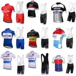1247bab9a 2018 QUICK STEP Hot Sale Men Breathable Cycling Short Sleeve Jersey Ropa  Ciclismo Maillot Cycling Clothes Bike Bib Shorts Set 33013