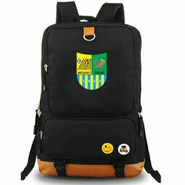 Cool laptops designs online shopping - Metalist Kharkiv rucksack Cool design day pack Cute football club school bag Soccer packsack Laptop backpack Sport schoolbag Outdoor daypack