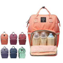 Wholesale 8 Colors New Multifunctional Baby Diaper Backpack Mommy Changing Bag Mummy Backpack Nappy Mother Maternity Backpacks