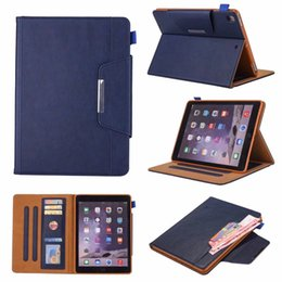 Discount leather business card folio 2018 leather business card discount leather business card folio luxury case for ipad 234 smart cover leather shockproof with auto reheart Choice Image