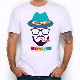 $enCountryForm.capitalKeyWord NZ - Teeheart Pipe Glasses Mustaches Hat Hipster Funny Joke Men T Shirt Tee