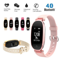 $enCountryForm.capitalKeyWord Canada - S3 Heart Rate Monitor Smart Band Sports Bracelet Fitness Tracker Reminder Wristband Health Monitor Smart Watches for iPhone Android