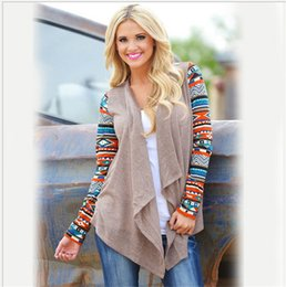 Plus Size Long Cardigan Wholesale Canada - 2018 women long sleeve cardigan autumn winter Lady Oversized sweater casual loose poncho women Plus Size sweaters hot