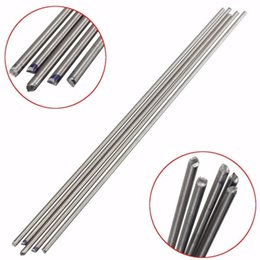 wholesale titanium rod NZ - 5 PCS Titanium Alloy Bar Metal Shaft Bar Round Rod 3mm x 250mm Titanium Rod