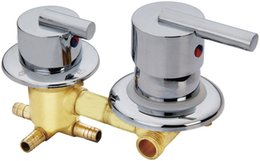Shower Control Valves UK - Shower room mixing valve, shower room mixer 2 3 4 5 way water outlet faucet , accessories