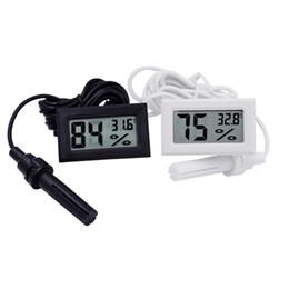 Digital Temperature Rh Meter Australia - Mini digital LCD display Thermometer Hygrometer Temperature Humidity Meter -50~70C 10%~99%RH 18%off