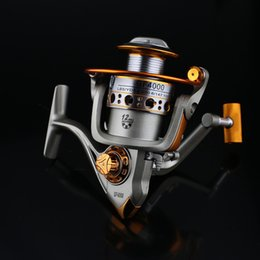 $enCountryForm.capitalKeyWord NZ - Speed Ratio 5.2:1 Metal Spinning Fishing Reel GF1000-6000 Spinning Reels Ocean Sea Boat Ice Fishing tackle Aluminum FISHING