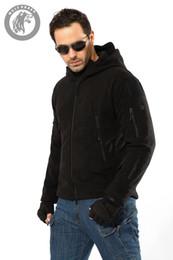 Windbreaker tactical jacket online shopping - Men Military Jacket Cool Coat Waterproof Tactical Jacket Winter Soft Shell Hunt Jackets Army Hooded Windbreaker Multi Zipper Pocket