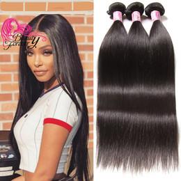 $enCountryForm.capitalKeyWord NZ - Beauty Forever 8A Mink Brazillian Straight Hair Weave Wholesale 100% Human Hair 3 Bundles Natural Color Brazilian Virgin Hair Best Quality