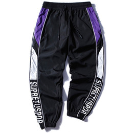 $enCountryForm.capitalKeyWord UK - men original trousers Korean version of the super hot pants fashion hip hop HipHop trousers BF handsome sports nine pants