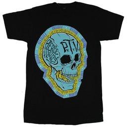 China The Veil Drive Mens T-Shirt - Diamond Design Surrounded Bleu Skull Image Cheap Sale 100 % Cotton T Shirts for Boys suppliers