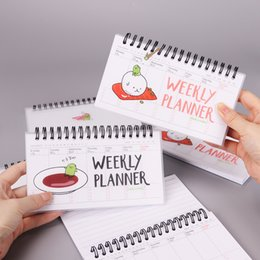 $enCountryForm.capitalKeyWord Canada - 16.1cm x 9.1cm Japanese Cuisine Cartoon PVC Weekly Planner Coil NotDiary Day Planner Journal Record Stationery