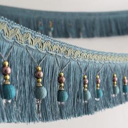 $enCountryForm.capitalKeyWord UK - Type-11 12Meter Tassel Bead Pendant Hanging Lace Trim Ribbon For Window curtains wedding Party Decorate Apparel Sewing DIY