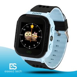French lights online shopping - Cute Sport Q528 Kids Tracker Smart Watch with Flash Light Touchscreen SOS Call LBS Location Finder for kid Child pk Q50